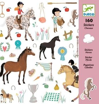 Bild von Djeco Sticker Pferde