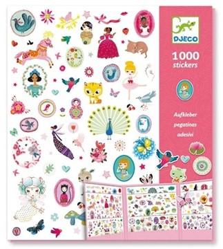Bild von Djeco Sticker für Mädchen