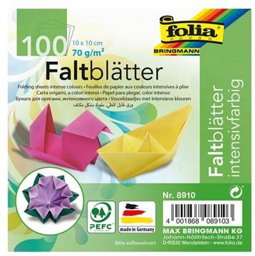 Bild von Folia Faltblätter 10x10cm
