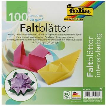 Bild von Folia Faltblätter 20x20cm