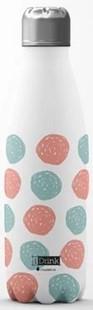Bild von I-DRINK Thermosflasche 500ml dots
