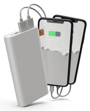 Bild von FRESH'N REBEL Powerbank 18000 mAh USB-C Ice Grey