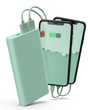 Bild von FRESH'N REBEL Powerbank 18000 mAh USB-C Misty Mint