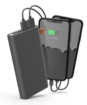 Bild von FRESH'N REBEL Powerbank 18000 mAh USB-C Storm Grey