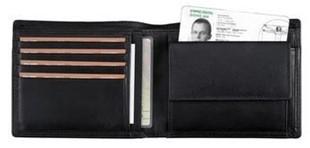 Bild von ALASSIO Portemonnaie Juscha 11,5x9,5cm schwarz