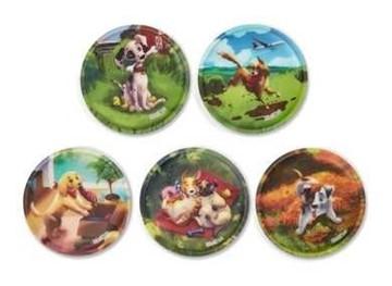 Bild von Klettie-Set Hundewelpen 5-tlg.