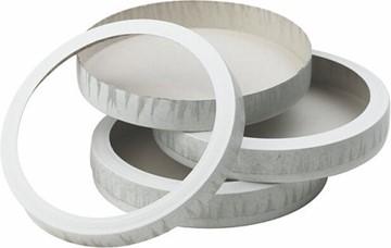 Bild von Laternenböden mit Deckel 11cm Druchmesser mit Loch, Packung à 10 Stück