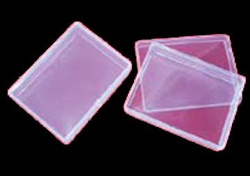 Bild von Kunststoff Doppel Etui Leer für Spielkarten 12.4x9.3x1.9cm