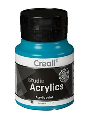 Bild von Creall Studio Acrylics 500ml türkis