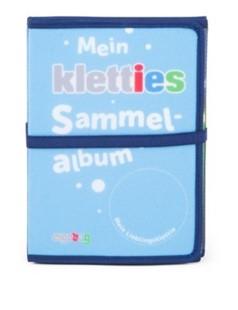 Bild von Kletties-Sammelalbum blau